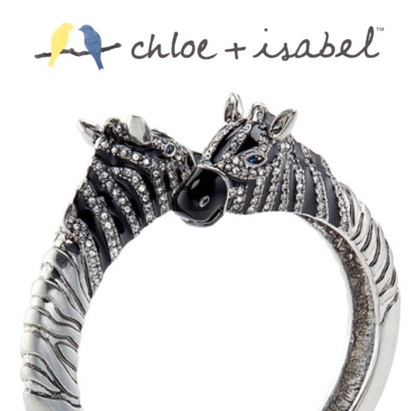 Chloe + Isabel Jewelry - 🆕🦓 Serengeti Hinged Zebra Bracelet c+i B401BLAR